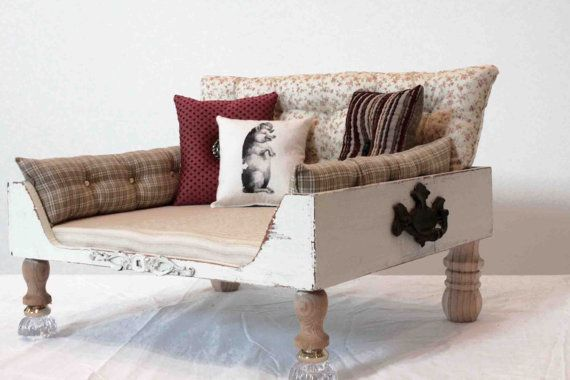 Pet dog bed bed cat bed FREE SHIPPING by designercraftgirl on Etsy, $950.00