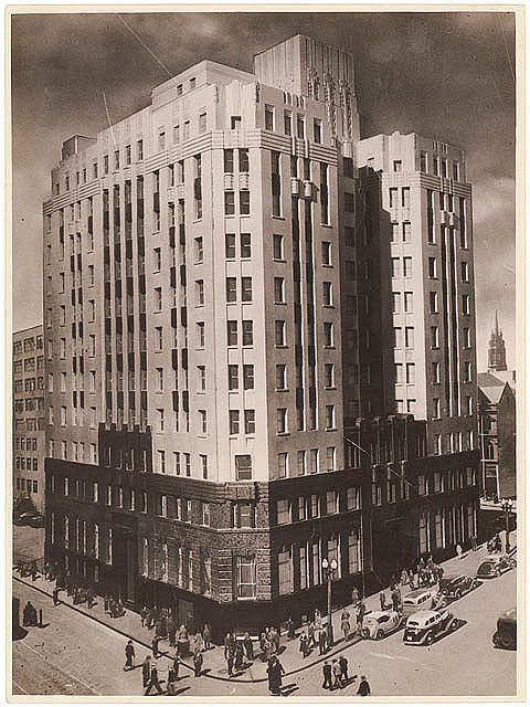 Rural Bank, Martin Place, Sydney, c. 1930s, by Sam Hood | by State Library of New South Wales collection