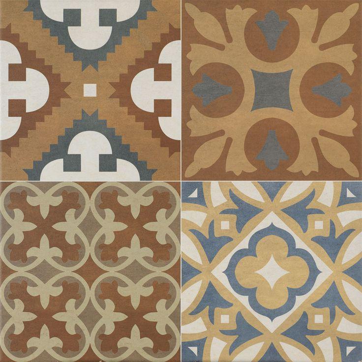 Aziz Floor Tiles http://www.wallsandfloors.co.uk/catrangetiles/moroccan-tiles/beldi-tiles/aziz-floor-tiles/20459/