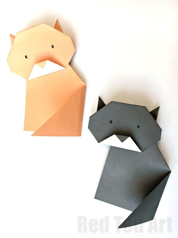 Super cute and easy Origami cat. Love how this one stands up. Lovely little origami project for beginner. Make Origami Easy!!!!