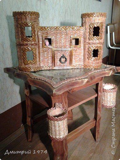 Всем ЗДРАВСТВУЙТЕ!!!!!!!  Доча попросила сделать домик,вот что получилось.....Дворец? Крепость? Решать Вам! :)))) фото 6