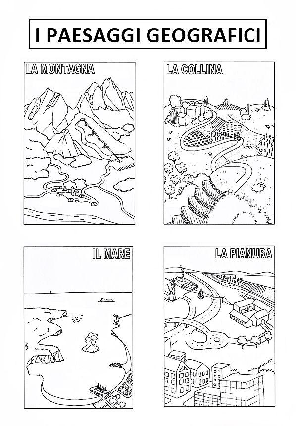 I Paesaggi Geografici Geografia Attivita Geografia L Insegnamento Della Geografia