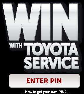 Win with Toyota Service Contest