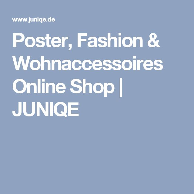Poster, Fashion & Wohnaccessoires Online Shop | JUNIQE