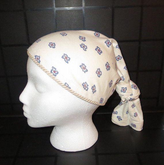 Fabric Du Rag Knotted Du Rag Lock Tube by TiStephani on Etsy, $18.00