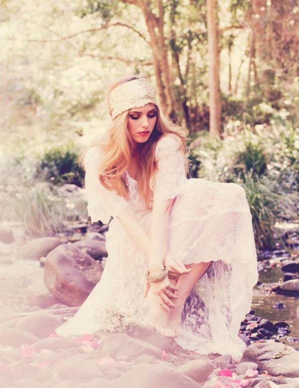 Bohemian Romantic Bride