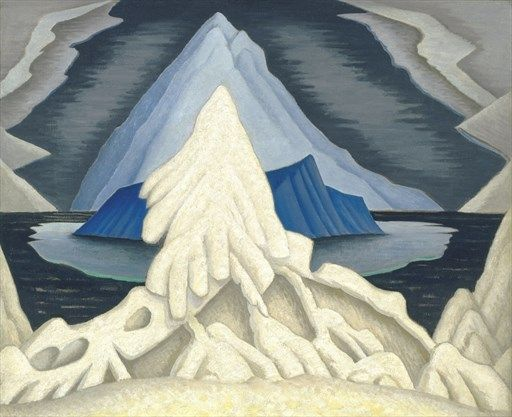 Winter Comes from the Arctic to the Temperate Zone   lawren harris