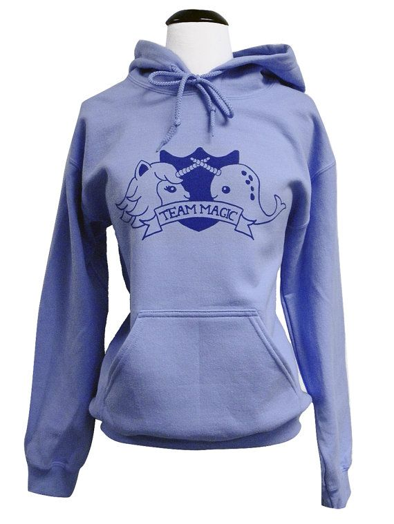 I kind of need this Narwhal Unicorn Hoodie  TEAM MAGIC Hooded by theboldbanana on Etsy, $28.00