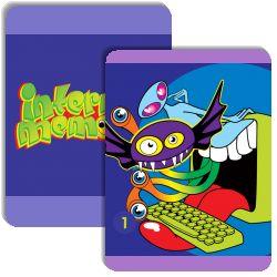 InternetMemorie is a memory matching game (like Concentration) created by Pauline Maas.  It has the following match cards: Iets engs meegemaakt? , Geld?, Wel eens boos?, Ouders?, Hoe google je?, Welke games?, Geheimpjes?, Vrienden?