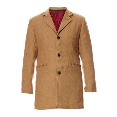 Prezzi e Sconti: D #struct scully cappotto cammello Uomo  ad Euro 95.99 in #Cappotti trench #Cappotti e giubotti
