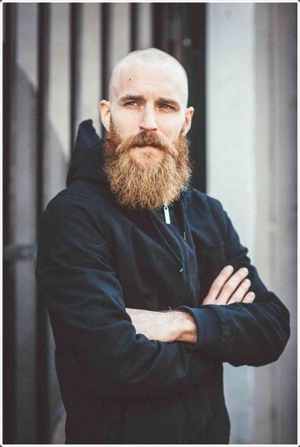 Shaved Head With Beard – 40 Beard Styles For Bald Men