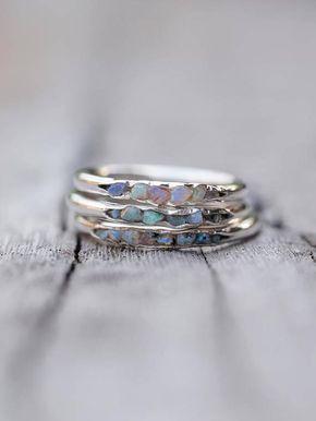 Fossil Opal Ring // Hidden Gems