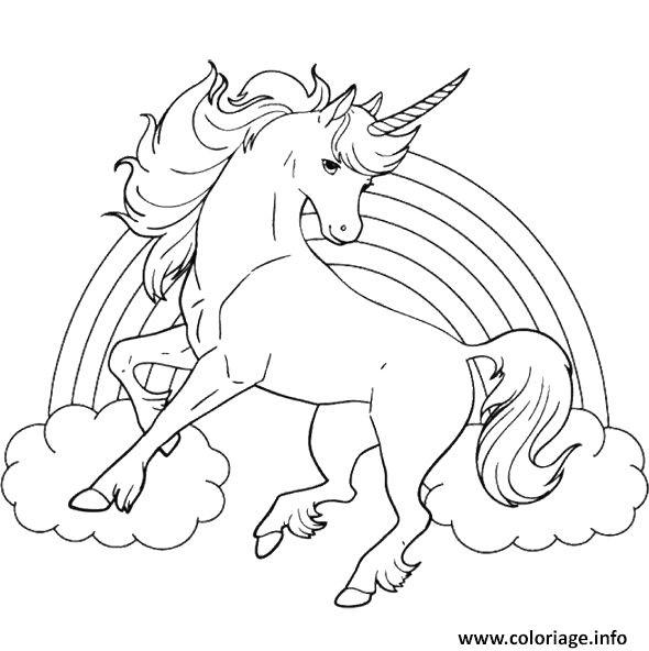 Coloriage Arc En Ciel Et Licorne Dessin Avec 1522202909arc En Ciel