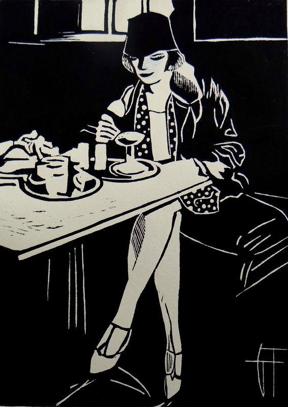 Linogravure Géraldine THEUROT