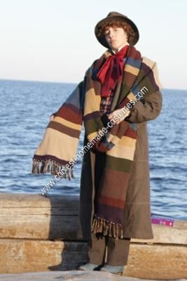 Coolest Homemade Doctor Who (The Fourth Doctor) Costume : dr who 4th doctor costume  - Germanpascual.Com