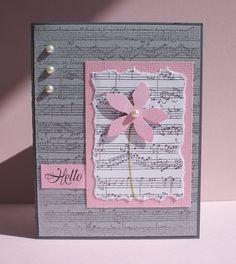 preciosa musical rosa y gris