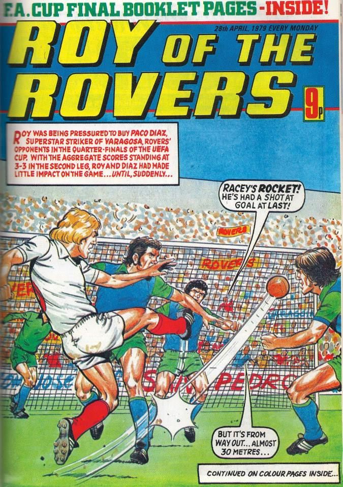 Roy of the Rovers, 28/04/79