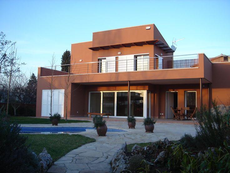 exterior piscina porche moderno casas via planreforma antes y