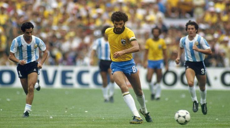 Socrates led Brazil to a famous victory over archrivals Argentina in the World Cup