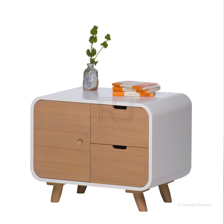 Leo Scandinavian Bedside Table  | M2-5 | $299.00