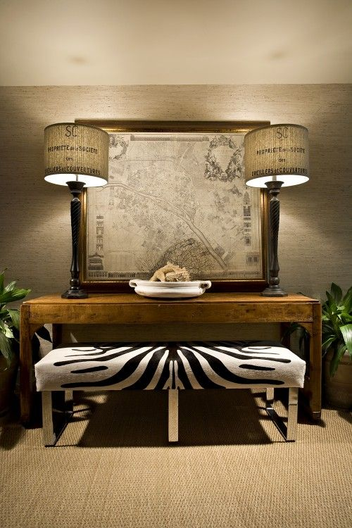 Anything with animal print is a winner in my book, and we are looking for a rug like this to mix in with our decor in the kids' living room.