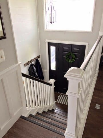 keep home simple our split level fixer upper entry - Foyer Designs For Bi Level Homes
