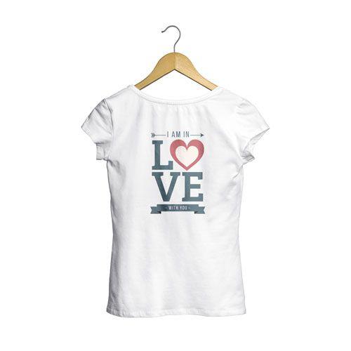 Camiseta Mujer Amor San Valentín