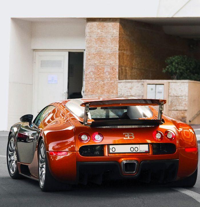 Superior Bugatti Veyron Caramel!