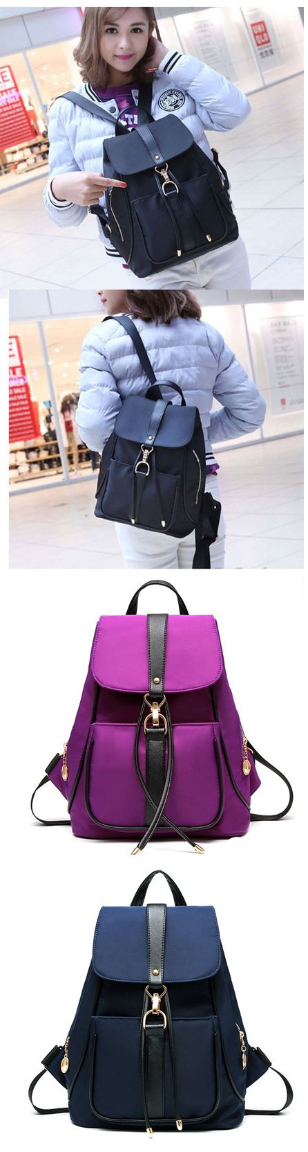 Pure Black Blue Purple School Rucksack Single Button Oxford Travel Backpack backpack trends 2017,backpack trends 2017 school,backpack trends 2017 women,backpack yellow,backpack yellow fashion,backpack pattern,backpack patches,backpack patches diy,backpack patches travel,backpack patches vintage,backpack for teens,backpack for teens school,backpack for teens 2017,backpack for travel,backpack for travel women,backpack for traveling,backpack for traveling bags,backpack for travel cute