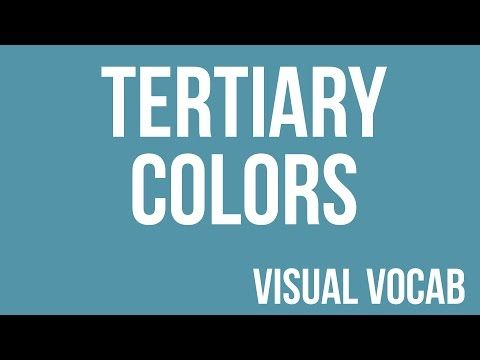 4th Grade; Quarter 2: Tertiary Colors defined - From Goodbye-Art Academy - YouTube