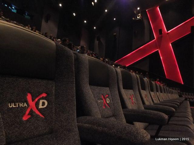 Sinema Ultra XD, Cinemaxx Maxx Box Lippo Village (Lukman Hqeem   benzano, 2015)