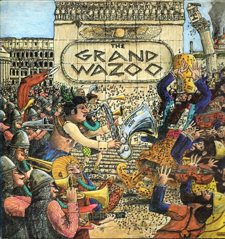 Frank Zappa - The Grand Wazoo (CD) #frankzappa #thegrandwazoo #cd