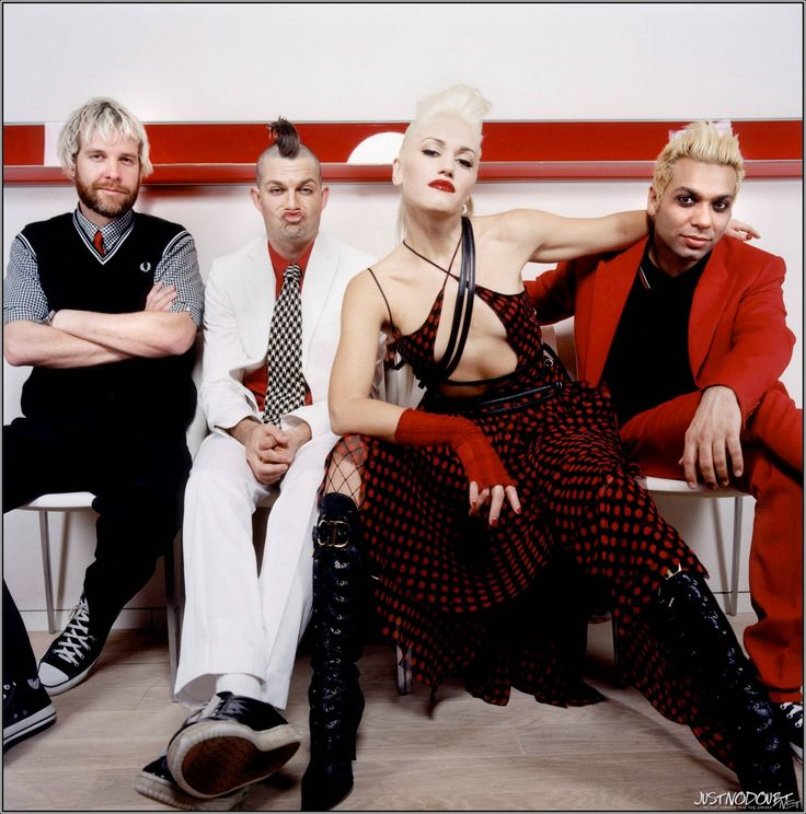 No Doubt - Adrian Young, Tom Dumont, Gwen Stefani and Tony Kanal
