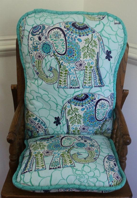 115 Best Custom Highchair Pads Images On Pinterest Seat