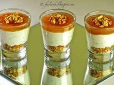 Ricetta Bicchierini gorgonzola, pere e noci, da Feelcook - Petitchef