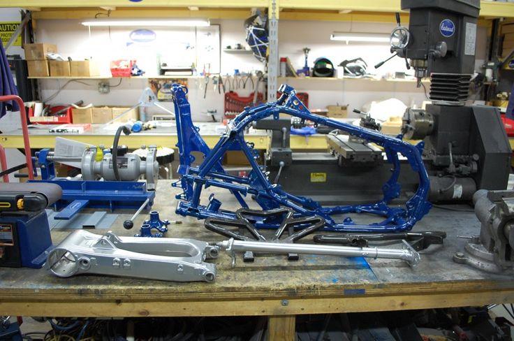 4 Wheeler Parts Powder Coated