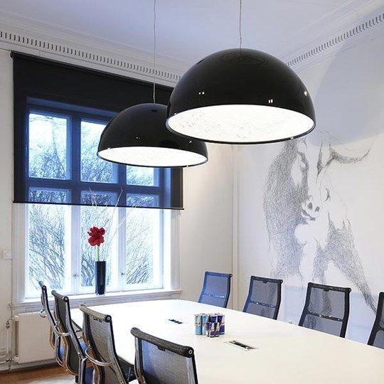 Skygarden: Discover the Flos suspended lamp model Skygarden