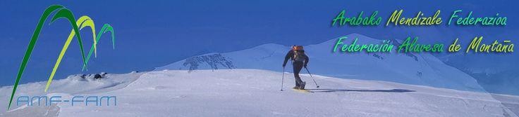 Web oficial de la federación alavesa de montaña