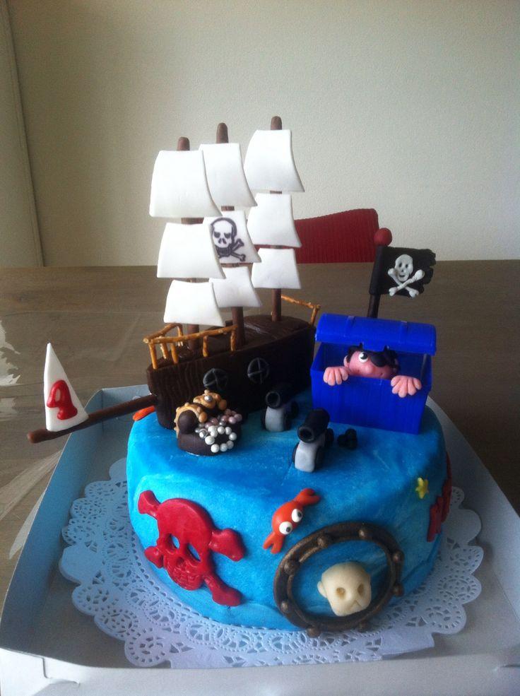 Een piratentaart voor Kris