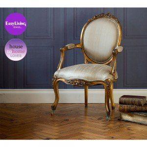 Versailles Mummy Gold Chair