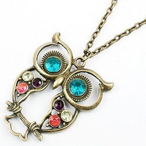 #Vintage Pöllö-kaulakoru  Korun tilaus- ja hintatiedot löytyvät osoitteesta: http://www.samaskoru.fi/tuote/vintage-pollo-kaulakoru/  #korut #kaulakoru #jewelry #necklace #fashion  www.samaskoru.fi
