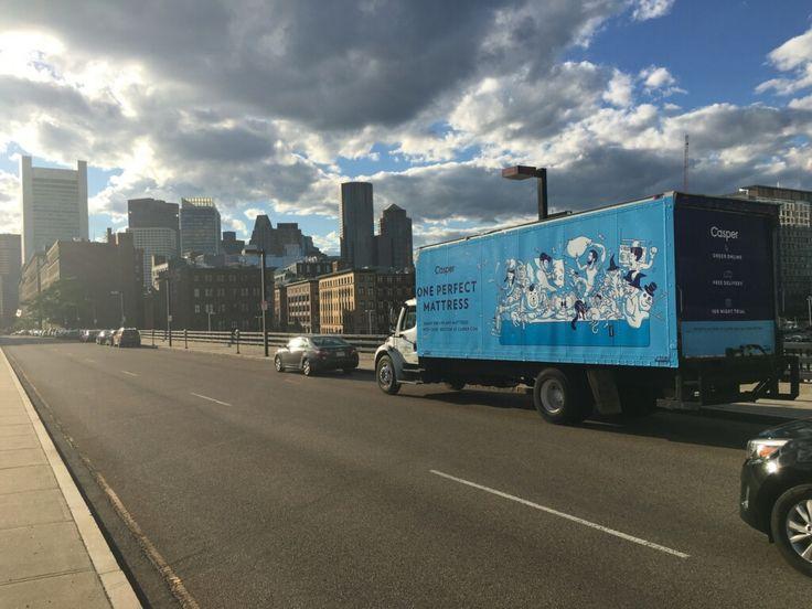 TSN Advertising and Casper in Downtown Boston