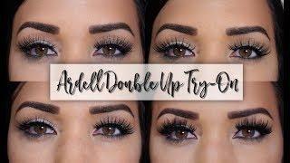 63f0db9cac4 Ardell Double Up Lashes Demo/Try-On! | Eyelashes | Lashes, Eyelashes ...