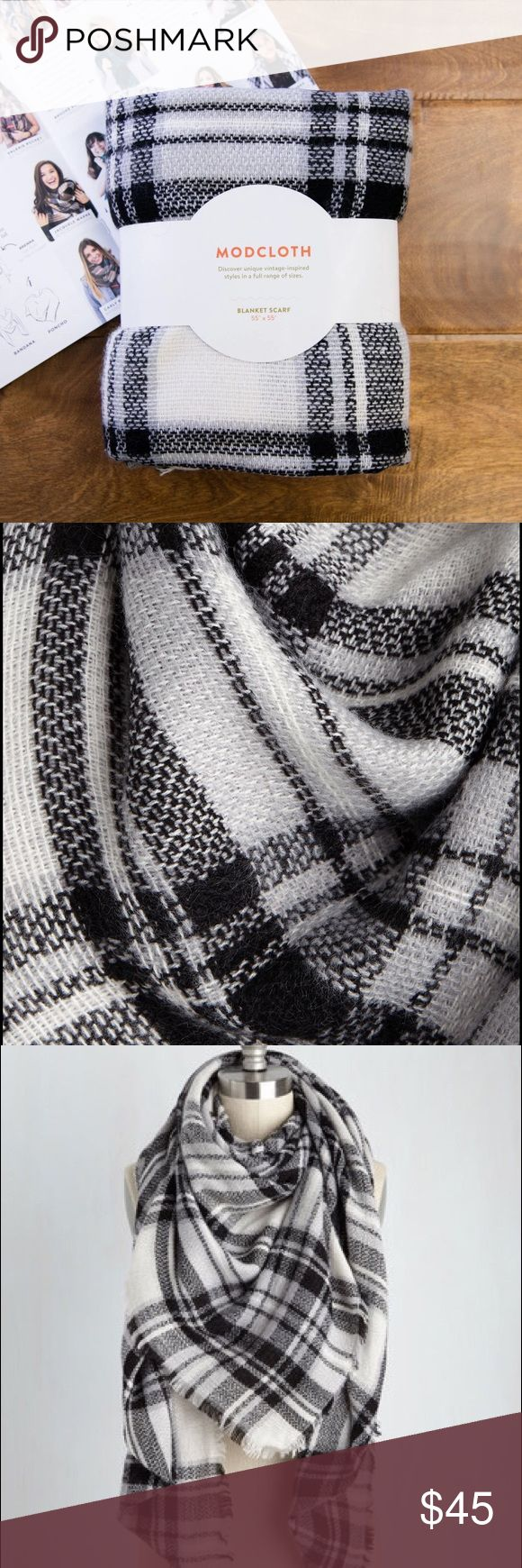 Modcloth Blanket Scarf New. 55 x 55 ModCloth Accessories Scarves & Wraps