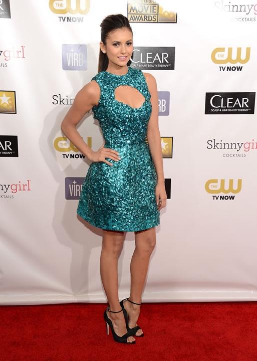 Los vestidos más sexys de los Critic's Choice Awards