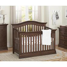 Baby Cache Montana 4in1 Convertible Crib  Brown Sugar