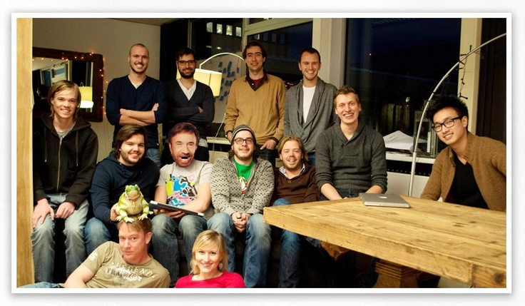 Photo  of the Frogs! @aFrogleap on the new site http://jobs.afrogleap.nl