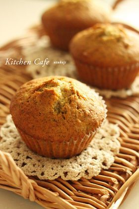 「ゆずジャムと紅茶のマフィン」uzukaji | お菓子・パンのレシピや作り方【corecle*コレクル】