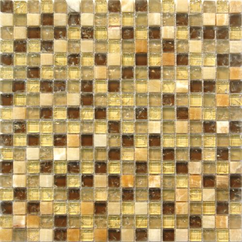Sample Black Metallic Deco Insert Crackle Glass Mosaic: 1000+ Images About Glass Mosaic On Pinterest