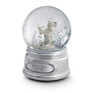 Create a personalized snow globe with a special date or message for the young or young at heart. Snow globes make great gifts at any time of the year.